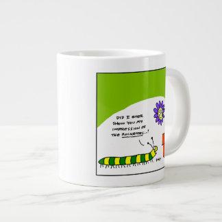 Dancing Caterpillar Gardener Coffee Mug Jumbo Mug