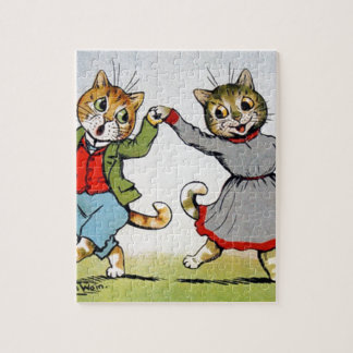 Dancing Cats Jigsaw Puzzle