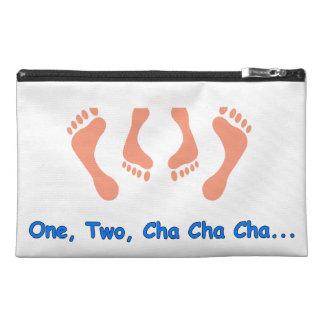 Dancing Cha Cha Feet Travel Accessory Bags