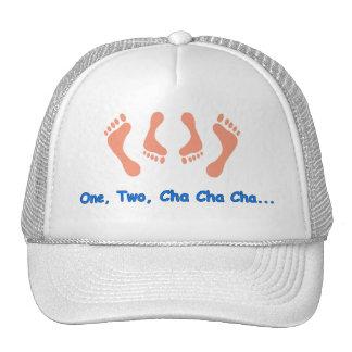 Dancing Cha Cha Feet Mesh Hats