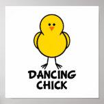 Dancing Chick Print
