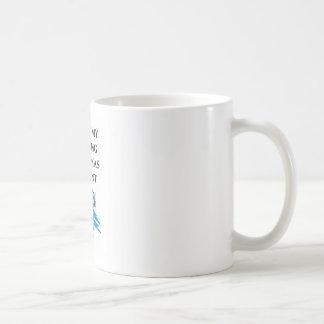 dancing christmas present coffee mug