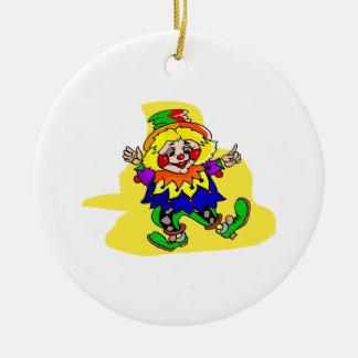 Dancing Clown Christmas Ornament