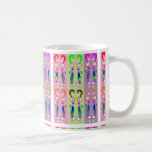 Dancing Colorful QUESTIONS Coffee Mugs