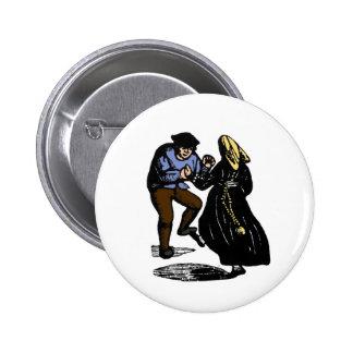 Dancing Couple 6 Cm Round Badge
