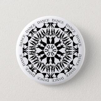 Dancing Couple Mandala Button 1