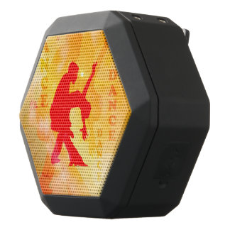 Dancing couple on a soft background black boombot rex bluetooth speaker