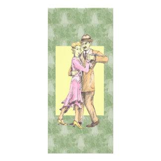 Dancing Couple Rack Card Design