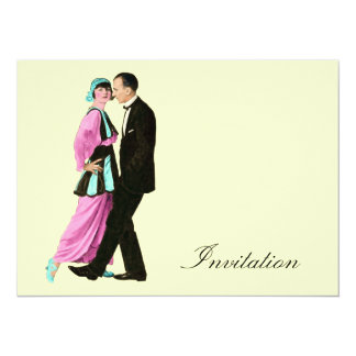 Dancing Couple - Vintage 1920's Invites