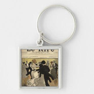 Dancing Couples Key Ring