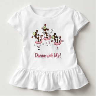 Dancing Cows in Tutus Toddler T-Shirt