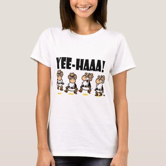 Dancing cows linedancing T-Shirt