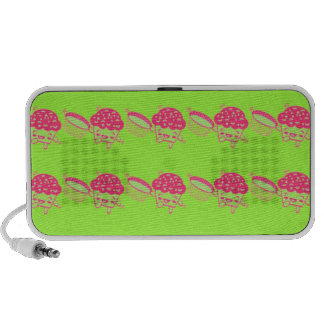 Dancing Cupcakes Cuties iPhone Portable Speaker