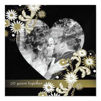 Dancing Daisies 50th Anniversary Card