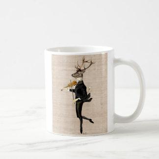 Dancing Deer with Violin 2 Coffee Mug