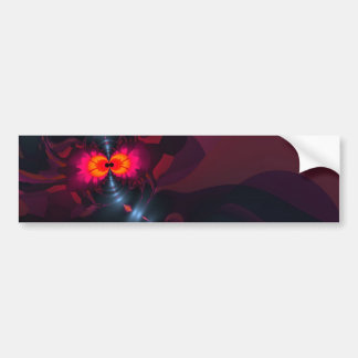 Dancing Devas – Violet & Salmon Sight Bumper Sticker