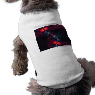 Dancing Devas – Violet & Salmon Sight Sleeveless Dog Shirt