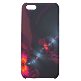 Dancing Devas – Violet & Salmon Sight iPhone 5C Case