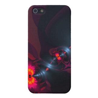 Dancing Devas – Violet & Salmon Sight iPhone 5 Case