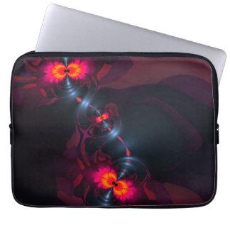 Dancing Devas – Violet Salmon Sight Laptop Sleeves