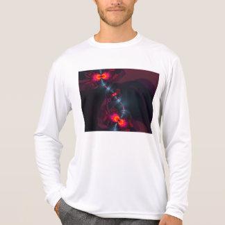 Dancing Devas – Violet & Salmon Sight Tee Shirt