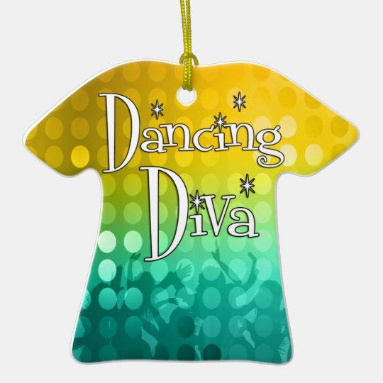 Dancing Diva Keepsake Ornament