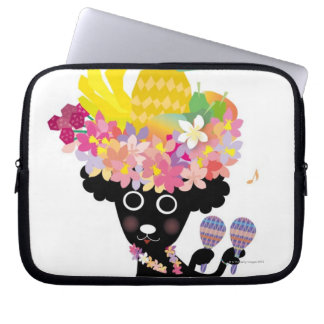 Dancing Dog Laptop Sleeve