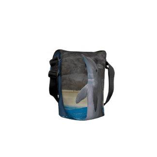 Dancing Dolphin, Mini messgener bag Courier Bags