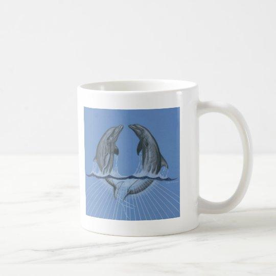 Dancing Dolphins Coffee Mug