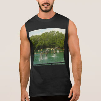 Dancing Dolphins in Miami Sleeveless T-shirt