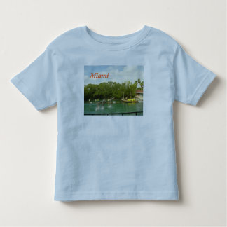 Dancing Dolphins in Miami Toddler T-Shirt