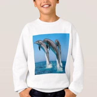 Dancing dolphins sweatshirt
