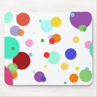 Dancing Dots Mouse Pad