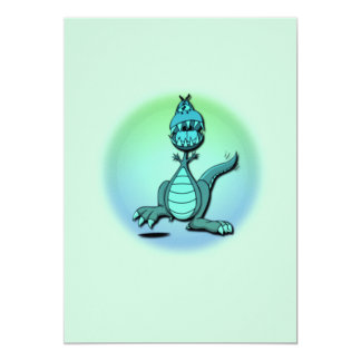 Dancing Dragon Invitation