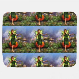 Dancing Fae Swaddle Blankets