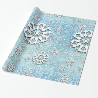 """""""Dancing Faerie Flakes"""" Wrapping Paper"""