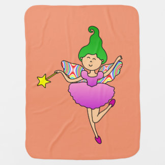 Dancing Fairy Swaddle Blankets