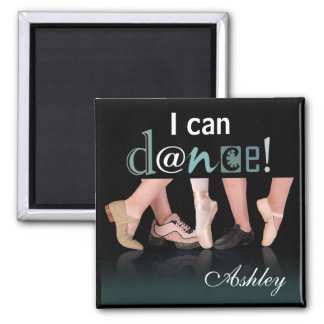 """Dancing Feet"" - Choreographer, Dancer, Instructor Square Magnet"