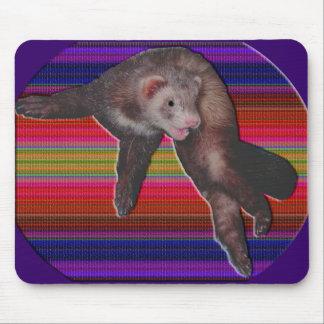 Dancing Ferret Mousepad
