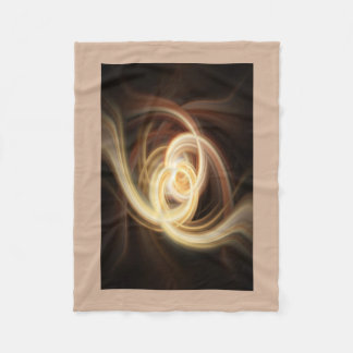 Dancing Flames Fleece Blanket