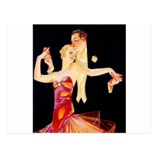 Dancing Flapper Postcard