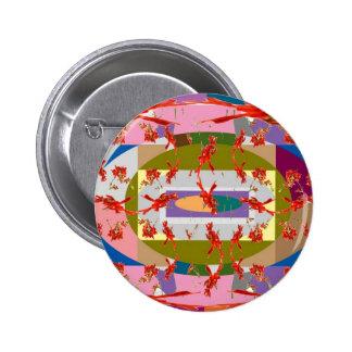 Dancing Flowers - Dance Floor 6 Cm Round Badge