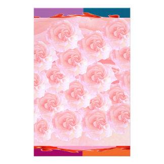 Dancing Flowers - Dance Floor Custom Stationery