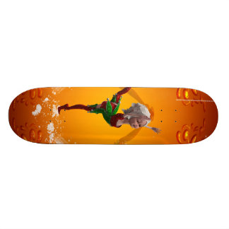 Dancing for christmas 21.6 cm old school skateboard deck