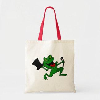 Dancing Frog Tote Bag