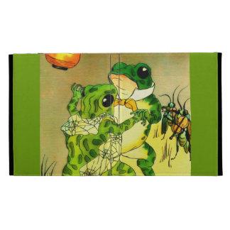 Dancing Frogs iPad Cases
