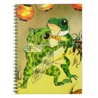Dancing Frogs Notebook