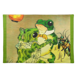 Dancing Frogs Placemat