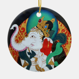 Dancing Ganesh Ornament