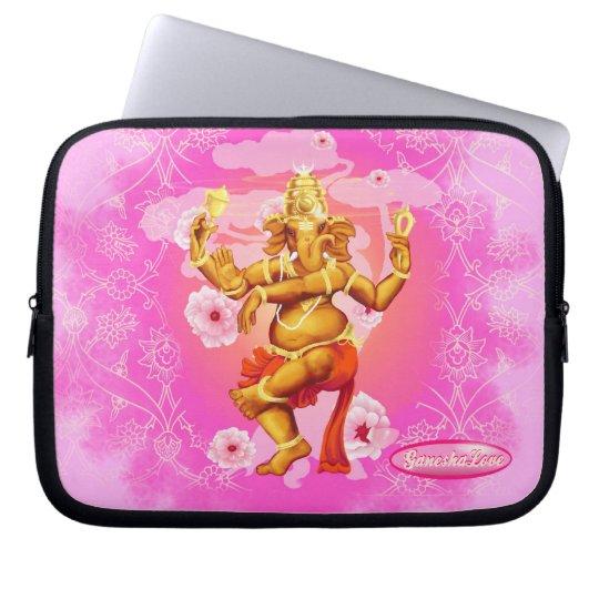 Dancing Ganesha Laptop Sleeve